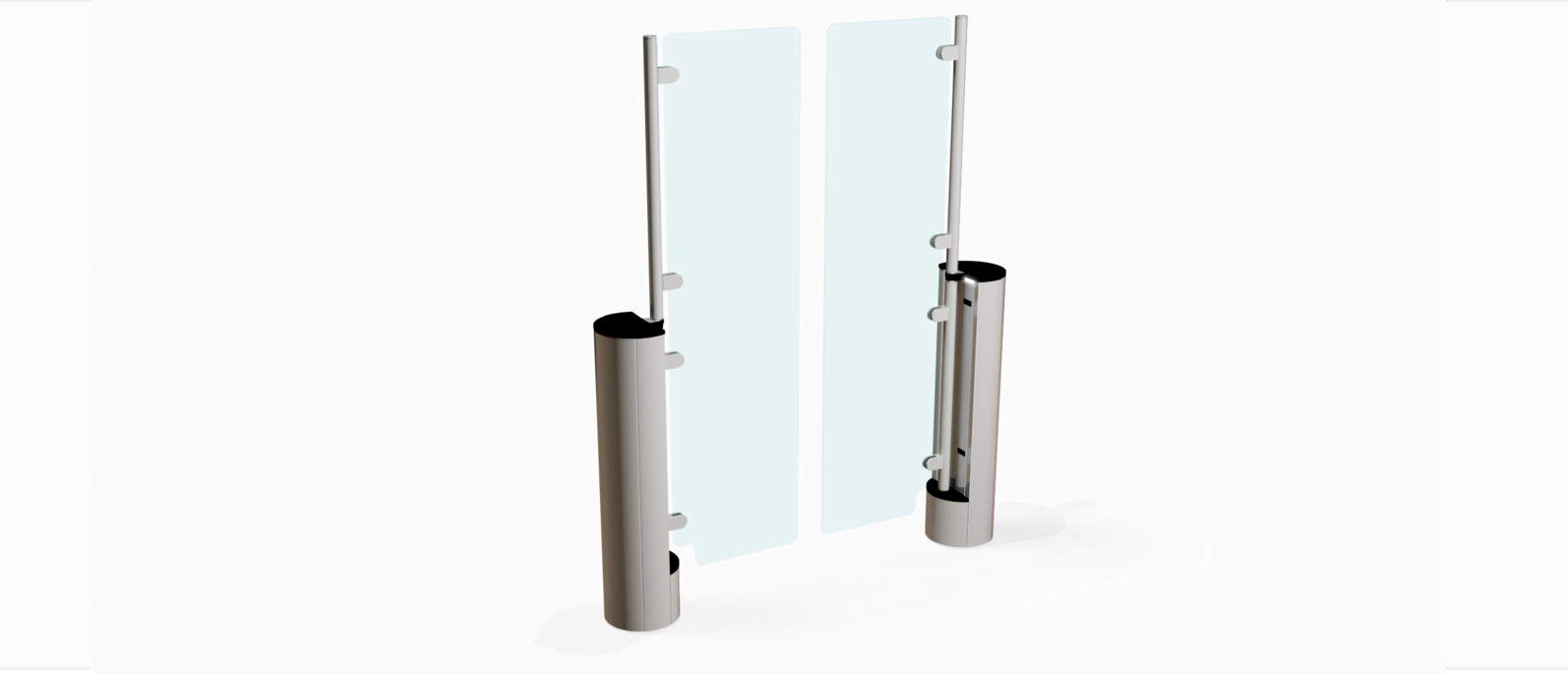 Fastlane Intelligate 300 entrance control security turnstile