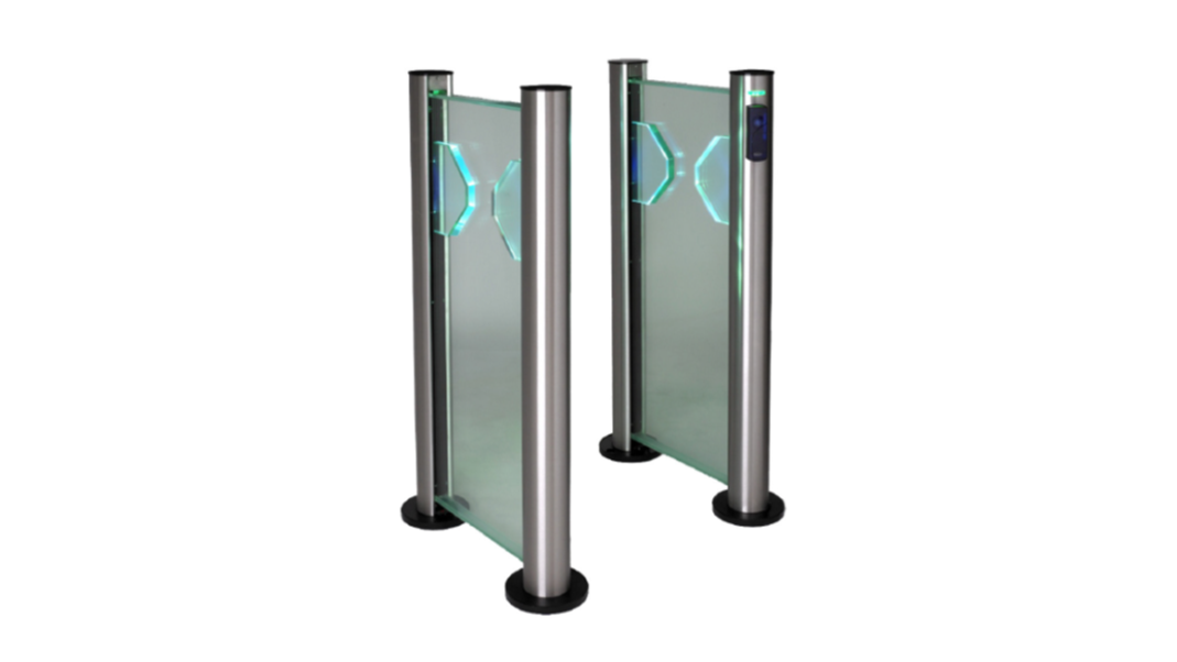 Fastlane Clearstyle 200 entrance control security optical turnstile