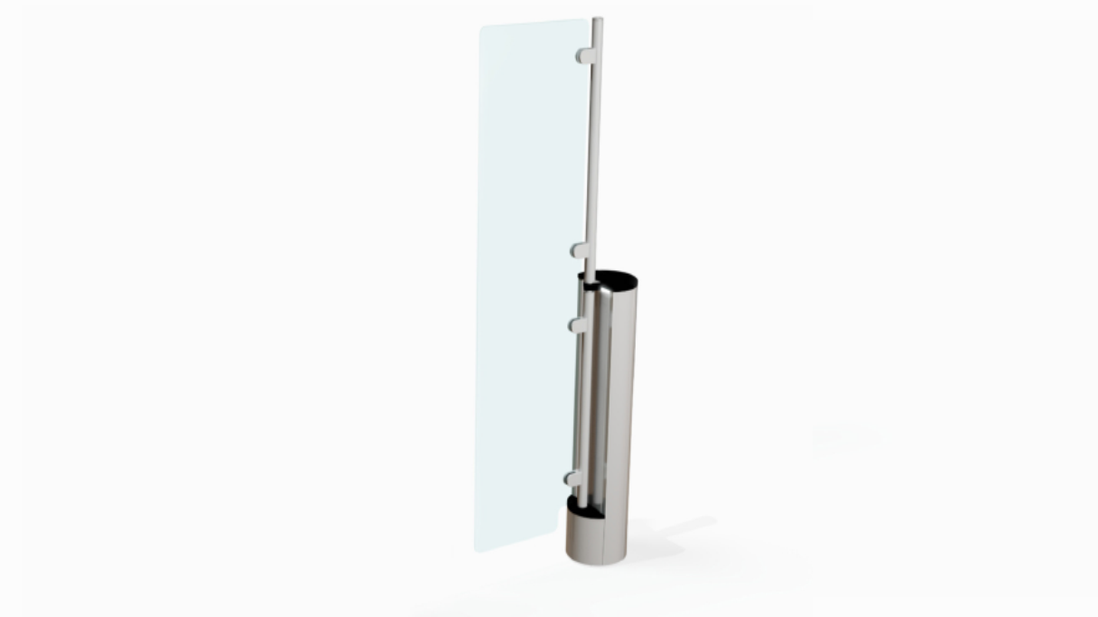 Fastlane Passgate 300 entrance control security swing barrier gate
