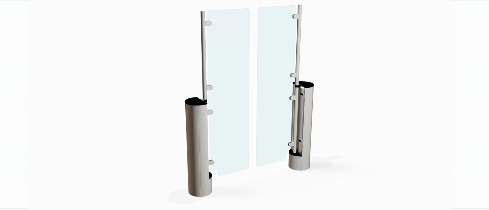 Fastlane Intelligate 300 entrance control security turnstile