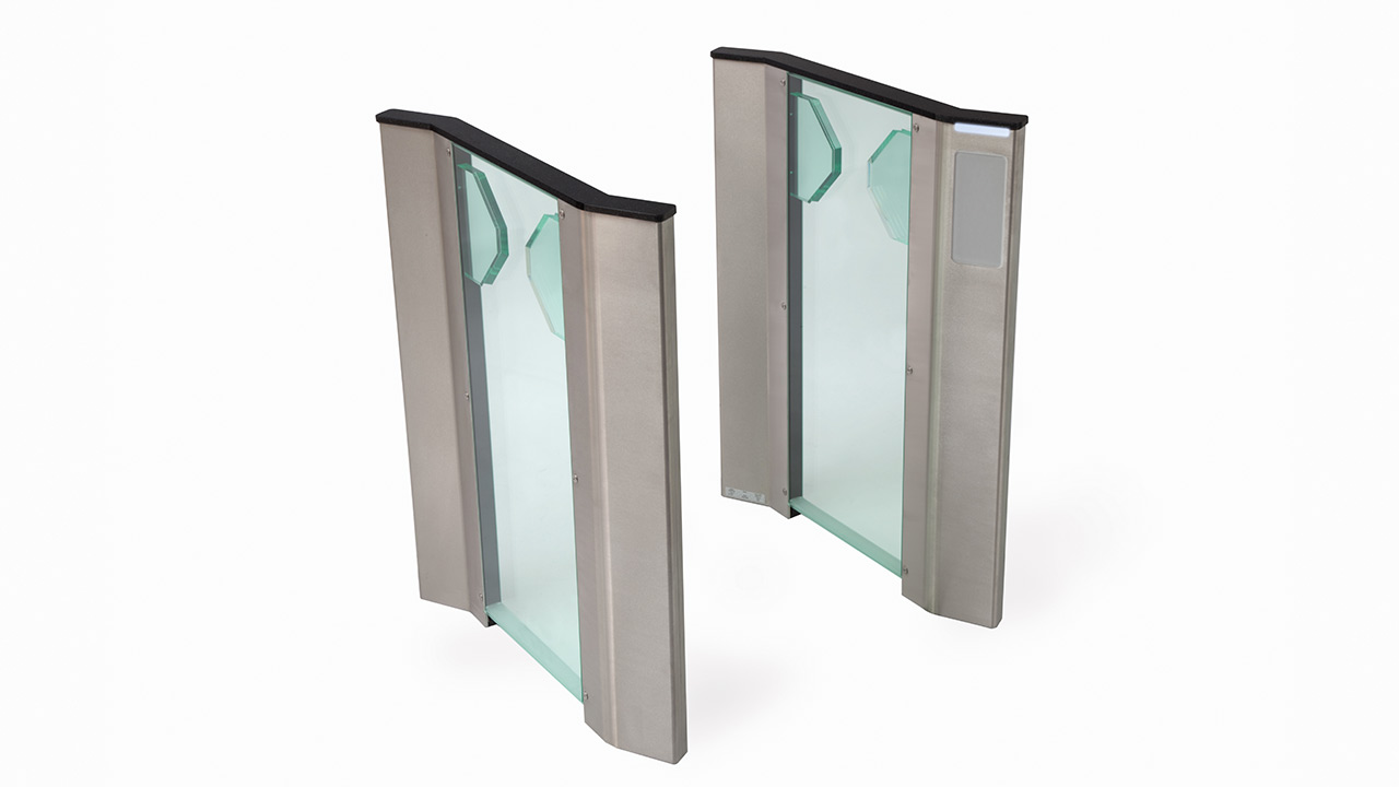 Fastlane Clearstyle 400 optical entrance control security turnstile