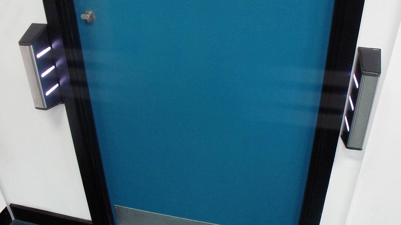 Fastlane Door Detective Compact door entry system entrance control security