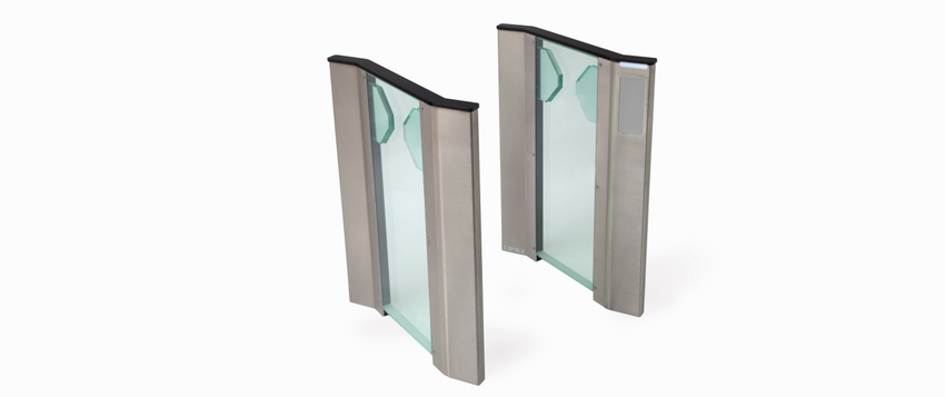 Fastlane Clearstyle 400 entrance control security optical turnstile