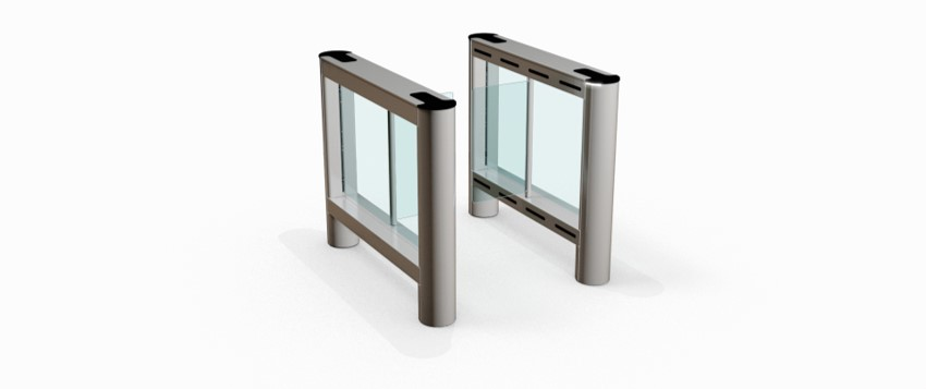 Fastlane Glassgate 150 entrance control security speedgate turnstile