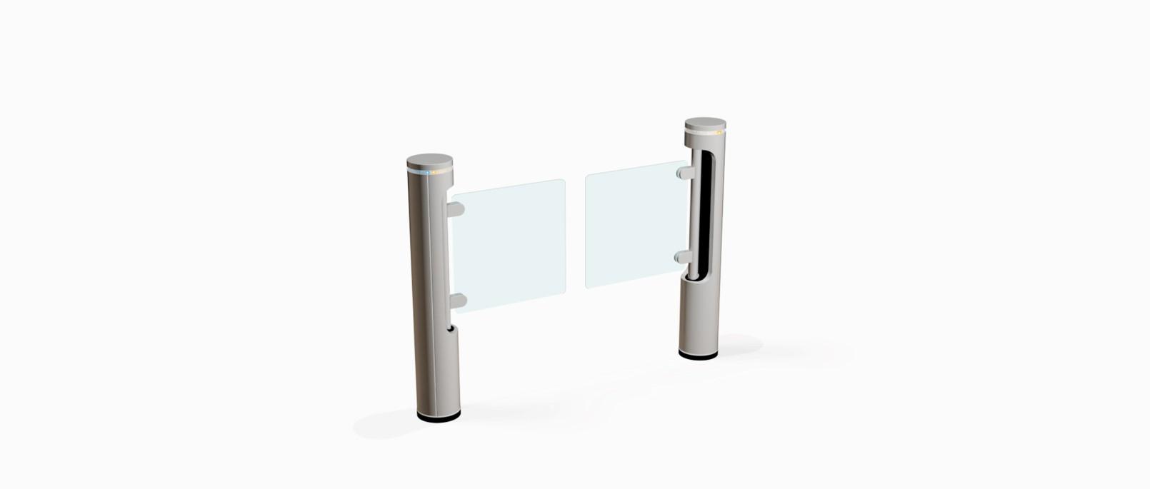 Fastlane Intelligate entrance control security turnstile