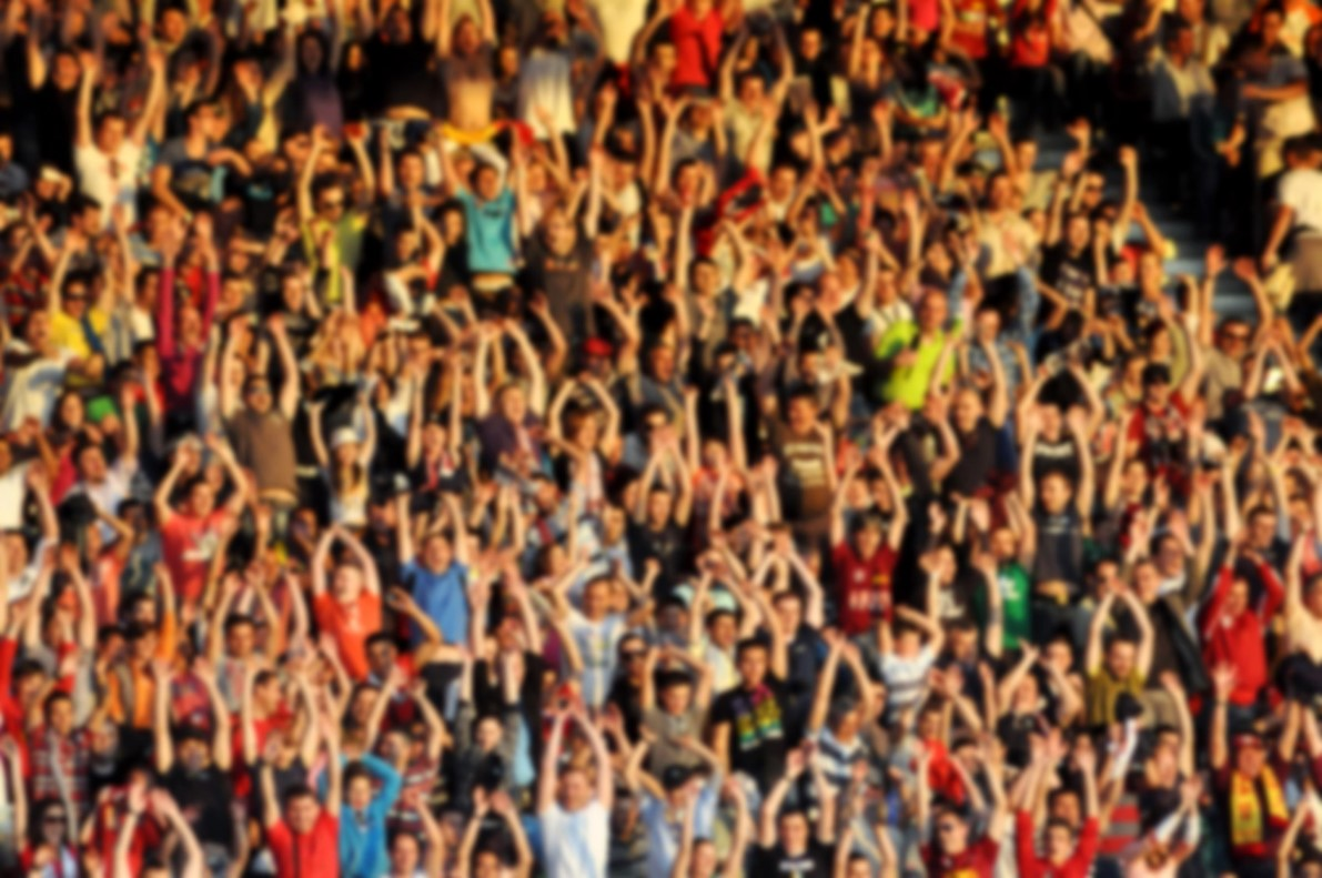 Crowded stadium image
