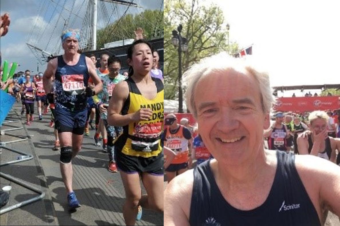 Derek london marathon montage