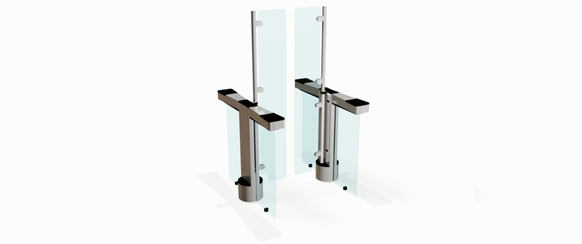 Fastlane Glassgate 300 Speedgate Turnstile Integrated Design Limited