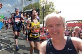 Derek Huff Managing Director Fastlane Turnstiles running marathon