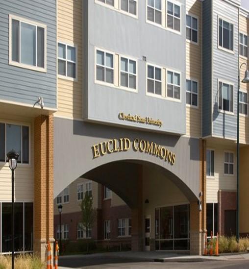 Cleveland State University residence entrances