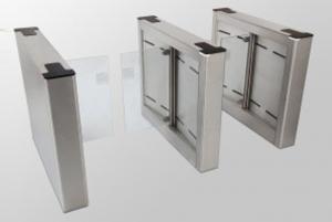 Fastlane Glassgate 250 entrance control security turnstile