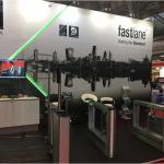 UK Security Expo 2017 Fastlane Turnstiles stand