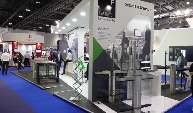 Best Exhibition Stand Ever : Our pick of the best security exhibitions in 2018 fastlane turnstiles