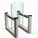 Fastlane Glassgate 400 entrance control security speedgate turnstile