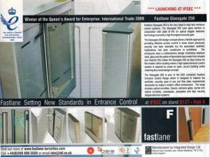 Newspaper clipping Fastlane wins Queen's Award for Enterprise Professional Security Magazine