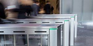 Fastlane turnstiles in World Trade Centre