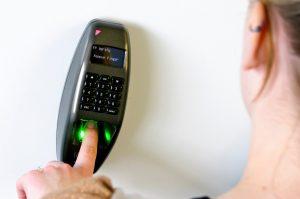 TDSi fingerprint reader