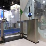 Fastlane turnstile integrated with Aurora facial recognition