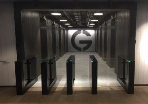 Fastlane turnstiles installed at The White Chapel Building, London