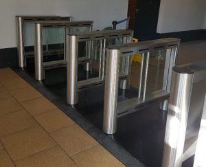 turnstiles installed at Milton Keynes College