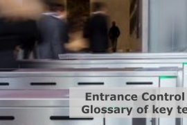 entrance control glossary of key terms