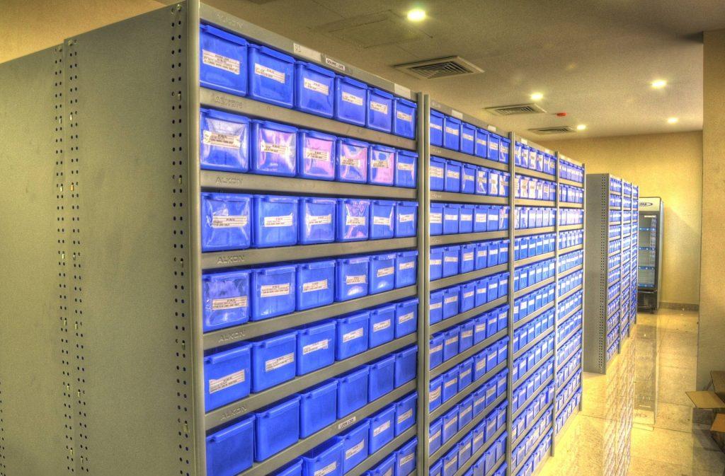 Blue Medical store