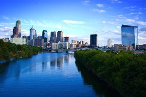Cira Center Philadelphia Skyline