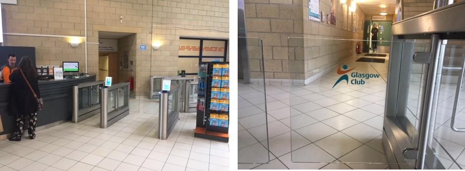Leisure facility entrance control