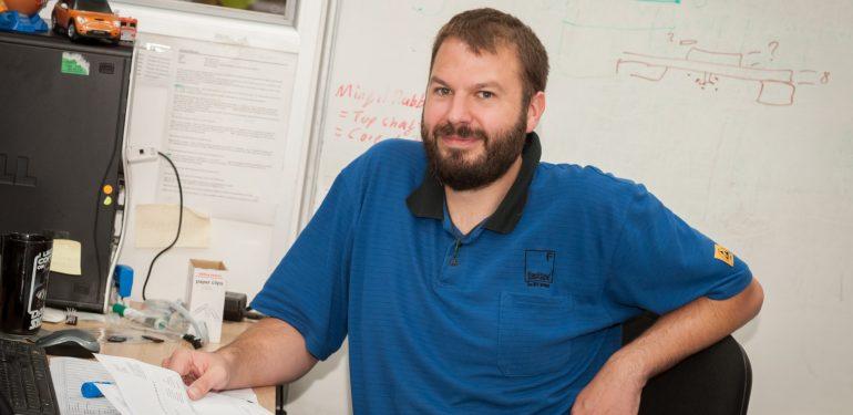 Richard Wheeler production team manager