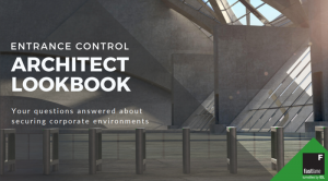 architect lookbook entrance control turnstiles