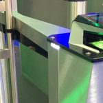 MorphoWave Compact integrated with Fastlane turnstile
