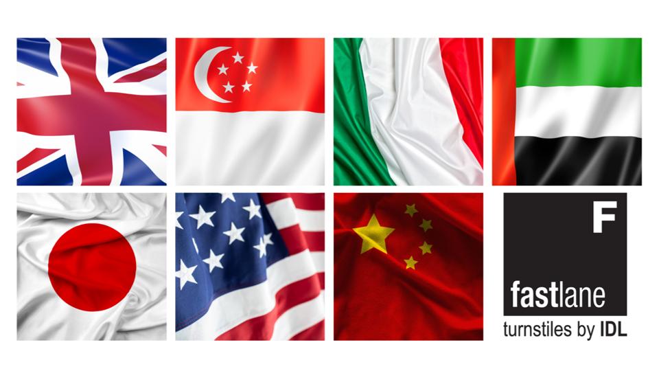 Fastlane global distributors flags